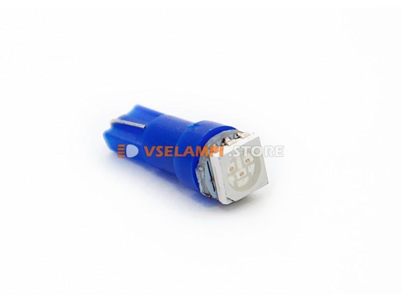 Светодиод 24vT5 1SMD 3chip микрушка - цвет свечения белый