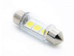 Светодиод 24vT11x36 AC 3SMD 5050 белый