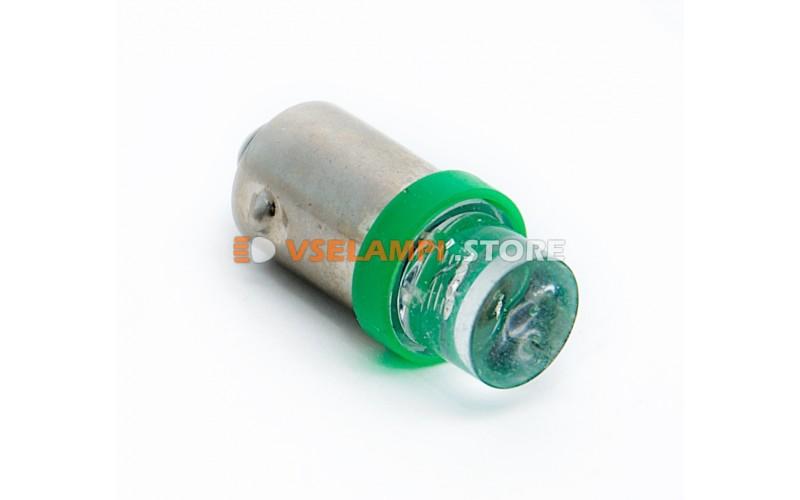 Светодиод 24vT8 1LED цок. - цвет свечения зелёный