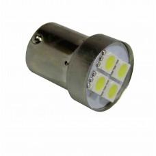 Светодиод Маяк 24vТ15 4SMD/BL белый