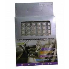 Светодиодные пластины 12vCX-24SMD-пиранья 1шт.