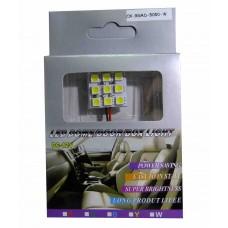 Светодиодные пластины 12vCX-9SMD-5050 1шт.