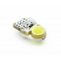 Светодиод 12vT10B COB-01 короткая б/ц белый