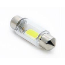 Светодиод 24vT11x36 АС COB в стекле белый