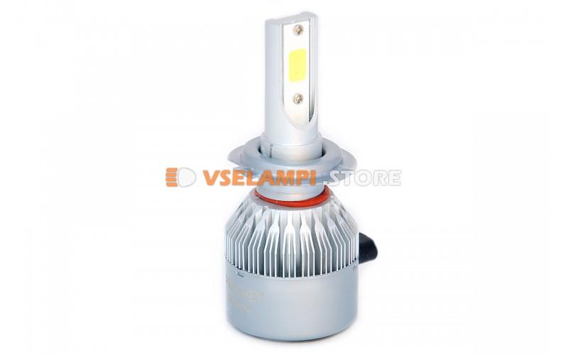 Сверх яркие светодиоды PROsvet C7 комплект 2шт. - цоколь H7