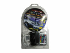 Светодиодная лента с блоком RGB 5050 60ch 12v б/ф (5м) комплект