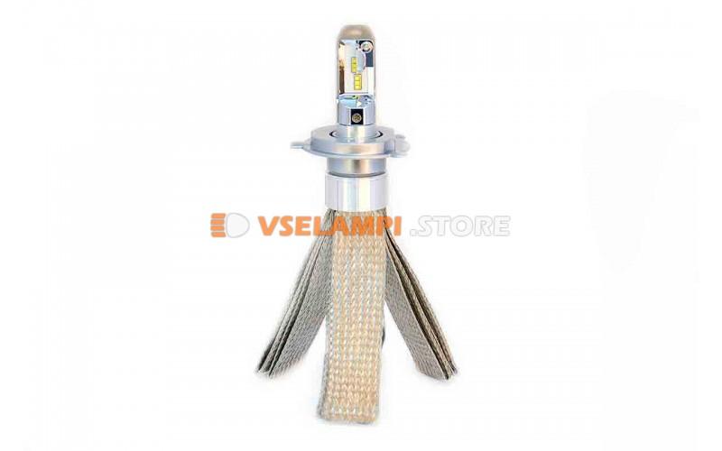 Сверх яркие светодиоды PROsvet 6S комплект 2шт. - цоколь H4