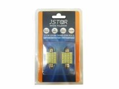 Светодиод JSTAR 12v-24v T11x36 36smd (2шт.)