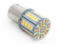 Светодиод 12vT25 78SMD 1 конт. белая+оранжевая (к-т 2шт)