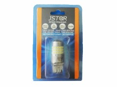 Светодиод JSTAR 12v-24v T20/5 78smd 2к.б/ц линза (шт.)