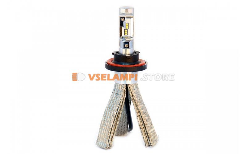 Сверх яркие светодиоды PROsvet 6S комплект 2шт. - цоколь H13