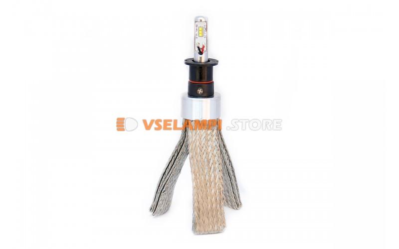 Сверх яркие светодиоды PROsvet 6S комплект 2шт. - цоколь H3