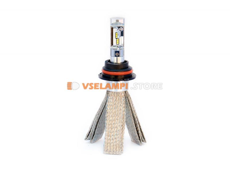Сверх яркие светодиоды PROsvet 6S комплект 2шт. - цоколь H7