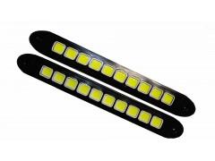 Ходовые огни монолит гибкие 26см(СОВ) 10SMD HDX-14